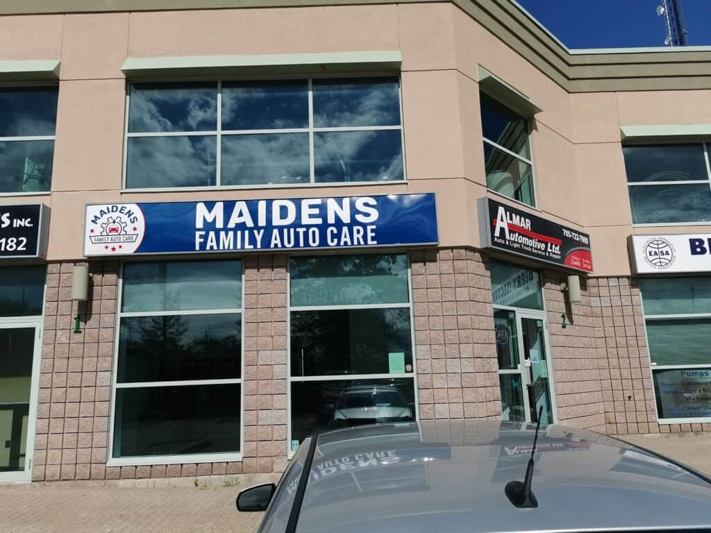 maidens family auto care barrie